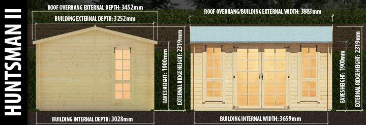 Huntsman II: Front and Side Elevation Details