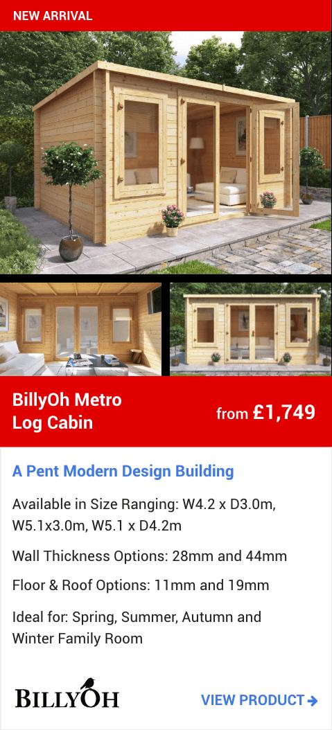 BillyOh Metro Log Cabin