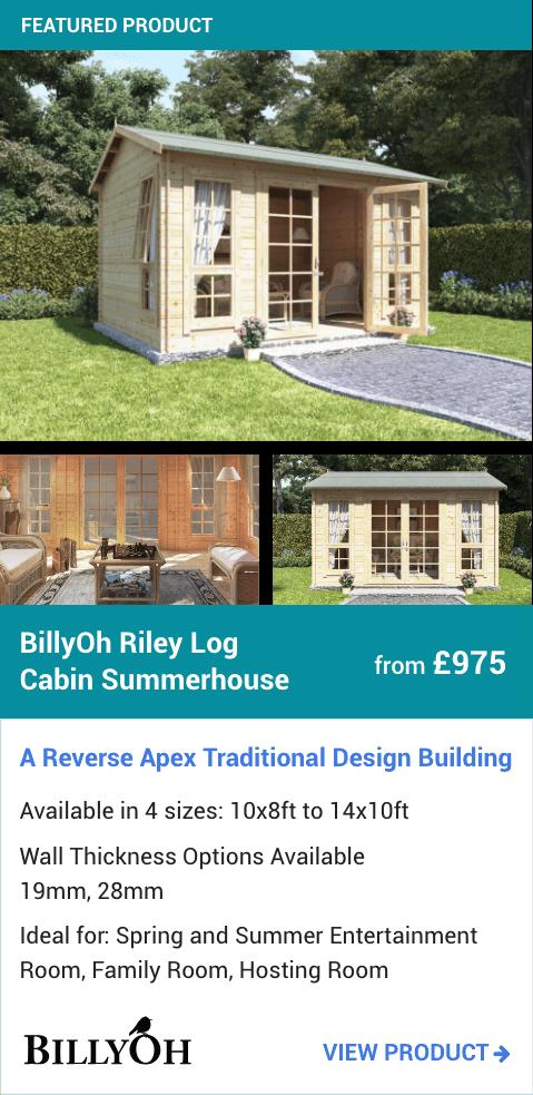 BillyOh Riley Log Cabin Summerhouse