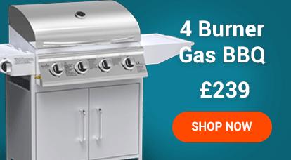 4 Burner Gas BBQ