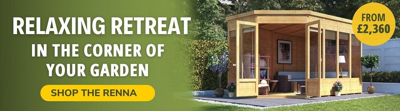 Relaxing retreat in the corner of your garden