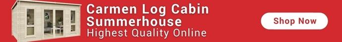 Carmen Log Cabin Summerhouse