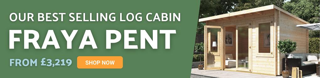 BillyOh Fraya Pent Log Cabin