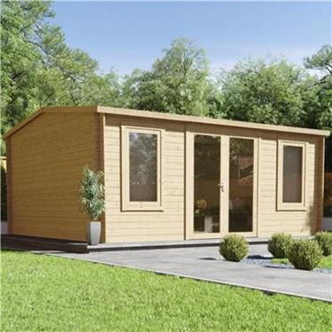 Contemporary Log Cabins