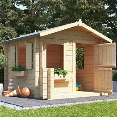 Log Cabin Playhouses