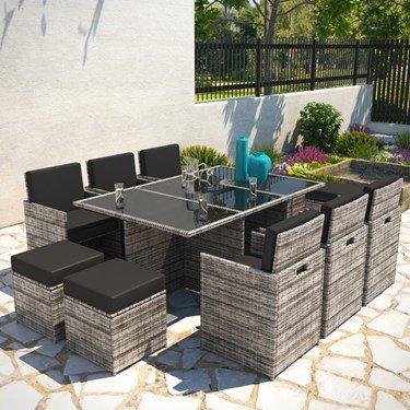 Cube Set Garden Furniture