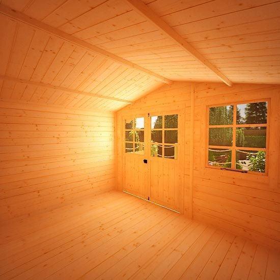 Lodge Log Cabin W3.0m x D2.5m