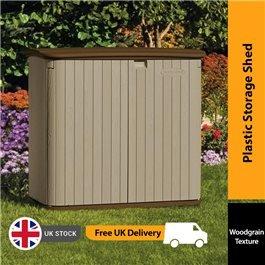 Suncast Kensington 4 Horizontal Plastic Shed