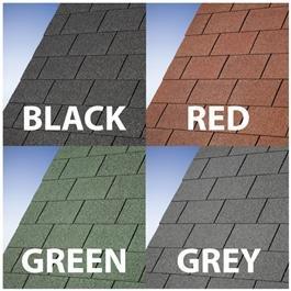 BillyOh Premium Felt Roofing Shingles - Felt Tiles Pack