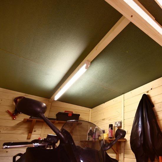 7 x 9 Internal Solid Sheet Roof