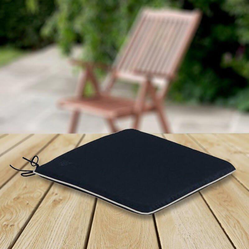 1 x Armchair Cushion - Black