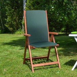CC - Garden Furniture Cushions - Seat Pad/Back - Green
