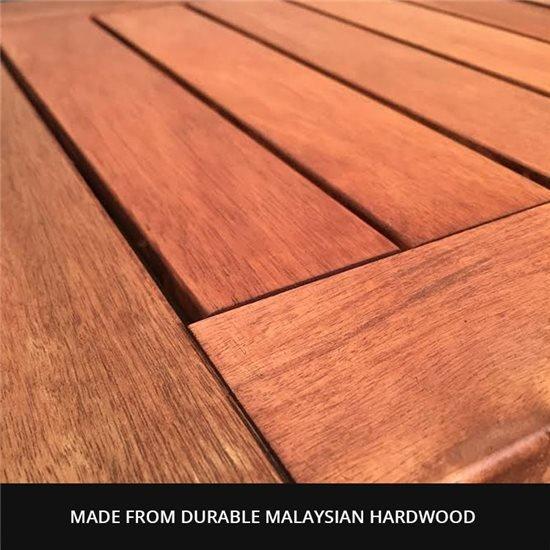 0.45m Folding Square Side Table