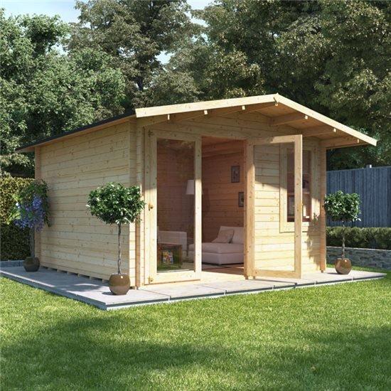 3.5 x 3.5  BillyOh Lodge Log Cabin - 19
