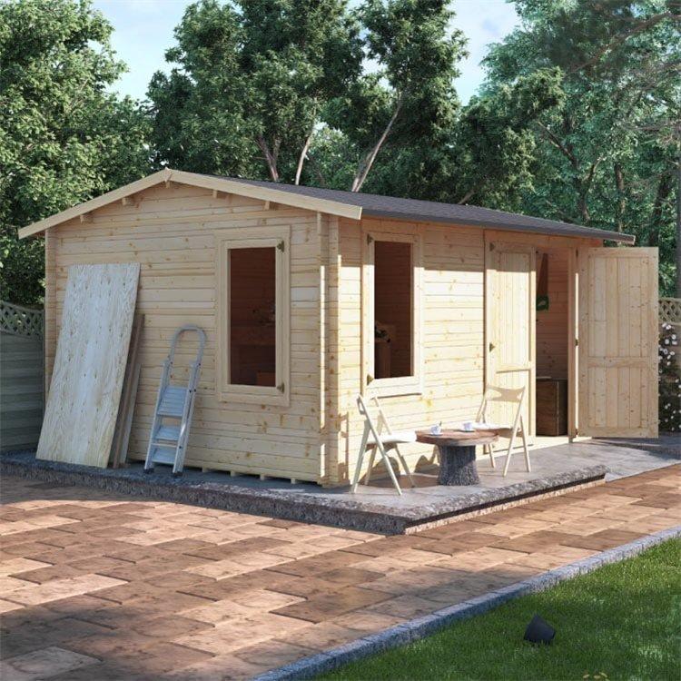 BillyOh Traditional Log Cabin Workshop
