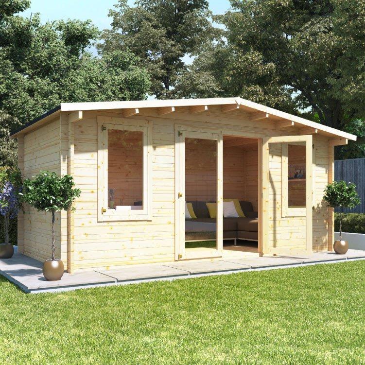 5.0m x 3.0m  BillyOh Winchester Log Cabin - 28,44