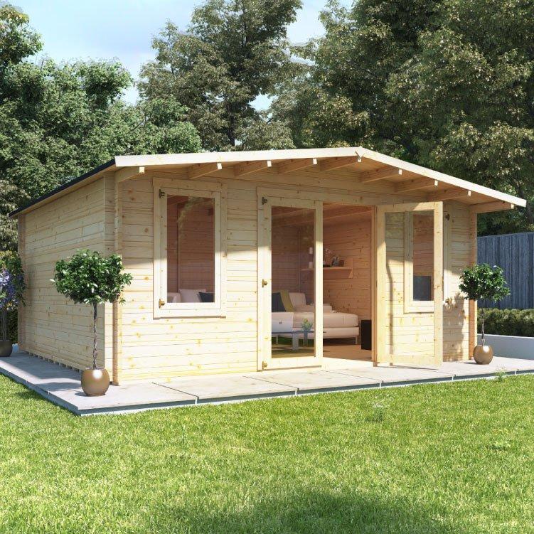 5.0m x 5.0m  BillyOh Winchester Log Cabin - 28,44