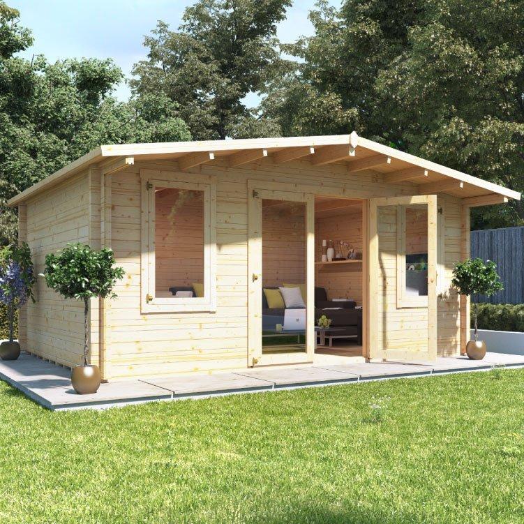 5.0m x 4.0m  BillyOh Winchester Log Cabin - 70
