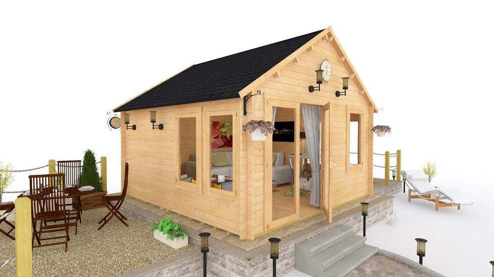 BillyOh Windsor Log Cabin
