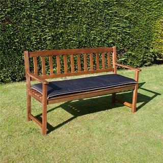 BillyOh 3 Seat Bench Cushion - Black