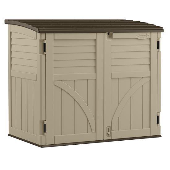 Suncast Horizontal Storage Shed, 34 ftᶟ