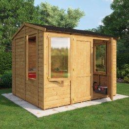 BillyOh 6000 Offset Door Windowed Workshop