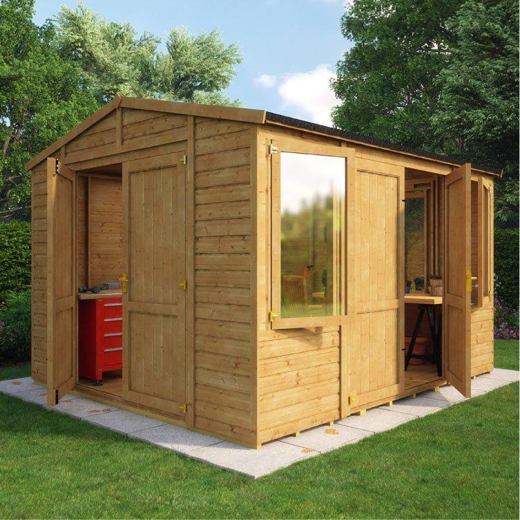 BillyOh 6000 Premium Doors Windowed Workshop