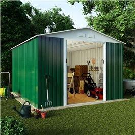 BillyOh Archer Metal Garden Shed Range Including Foundation Kit