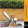 BillyOh 7-Position Dark Brown Recliner Chair (Pack of 2)