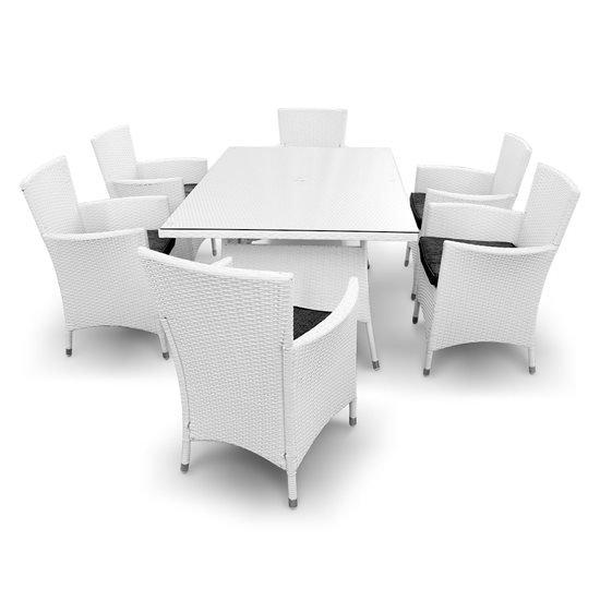 6 Seat Set - White