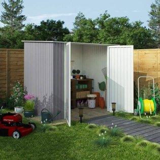 billyoh combo pent metal shed - Garden Sheds 6x7