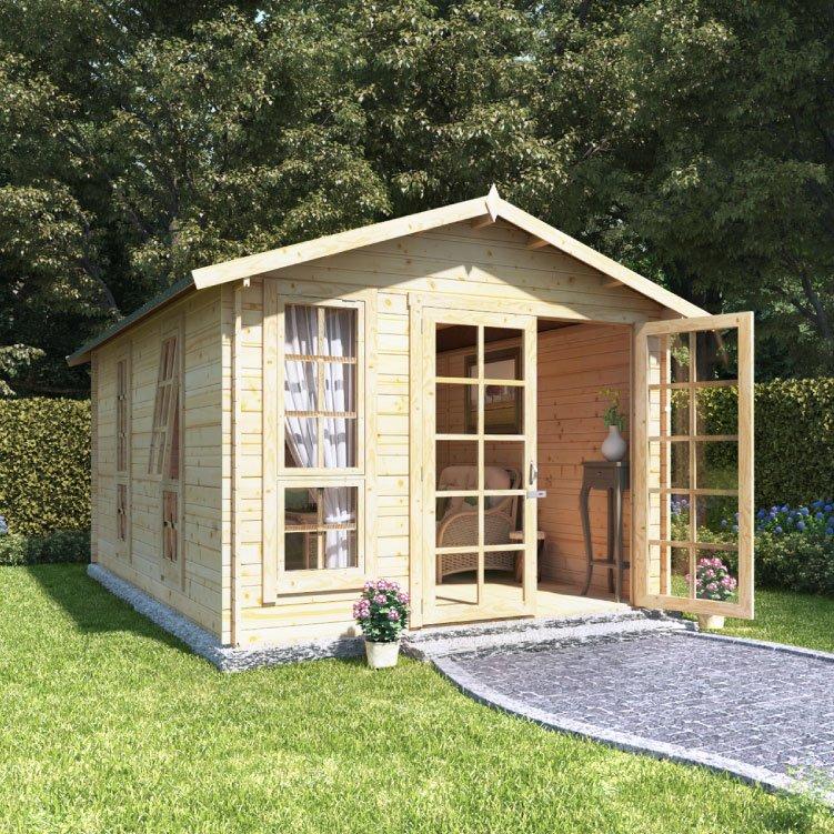 BillyOh Miller Log Cabin Summerhouse
