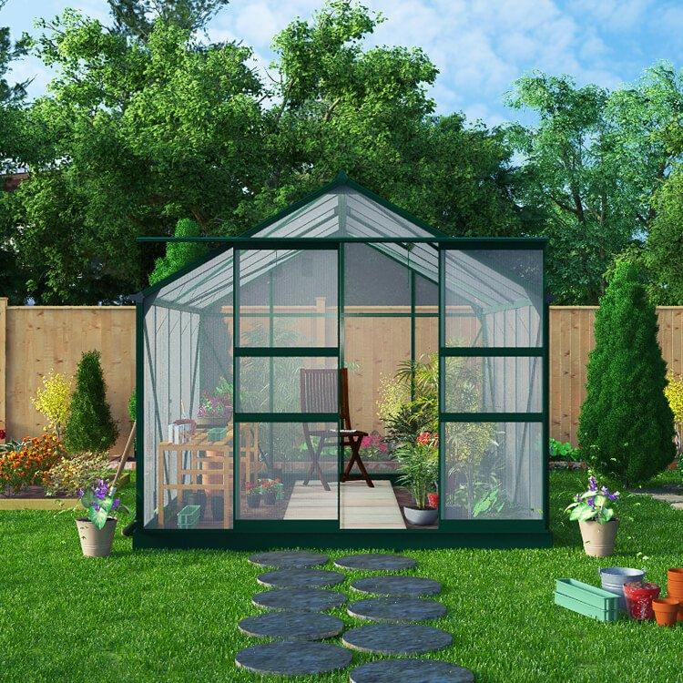 BillyOh Harvester Walk-In Aluminium Greenhouse