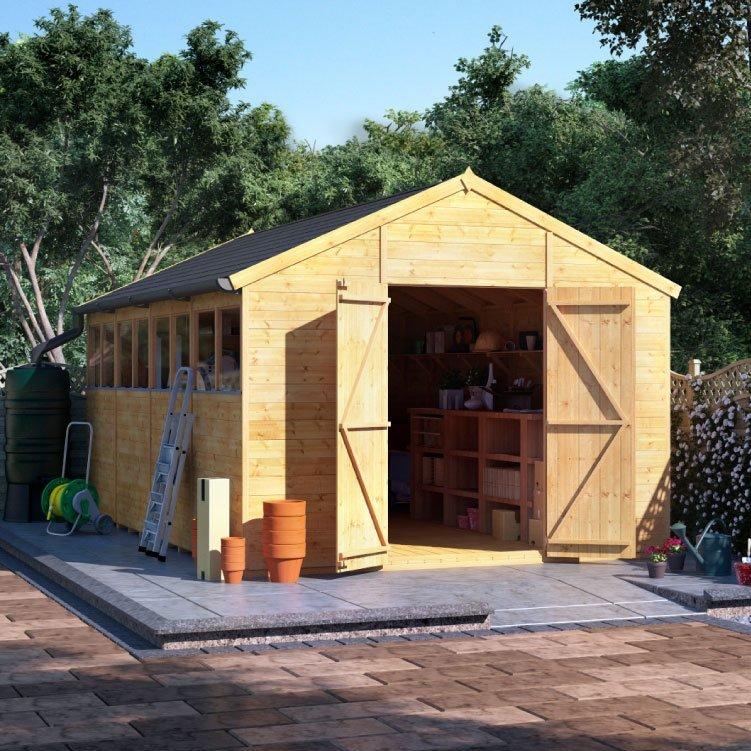 garden sheds 5 x 9