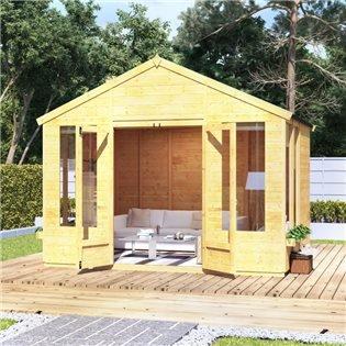 8x10 T&G Apex Summerhouse