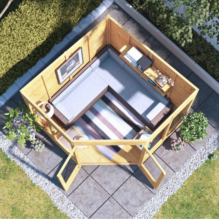 BillyOh Picton Corner Summerhouse - Summer Houses - Garden ...