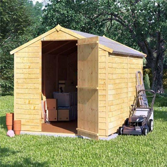 Garden Sheds 8x6 wooden sheds - wooden garden sheds | garden buildings direct