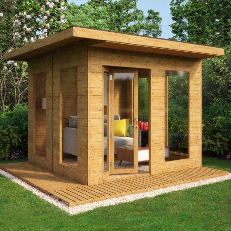Grandmaster Contemporary Summerhouse - 10x10
