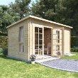 BillyOh Heston Log Cabin Summerhouse with Side Store