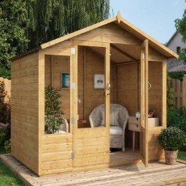Norwell Wooden Summerhouse T&G Apex Double Door