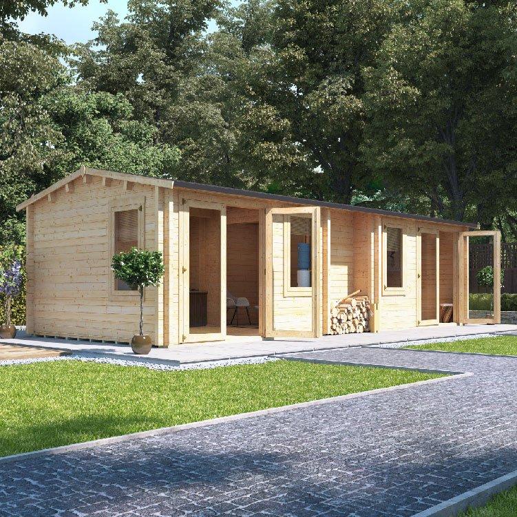 BillyOh Pod Multiroom Log Cabin