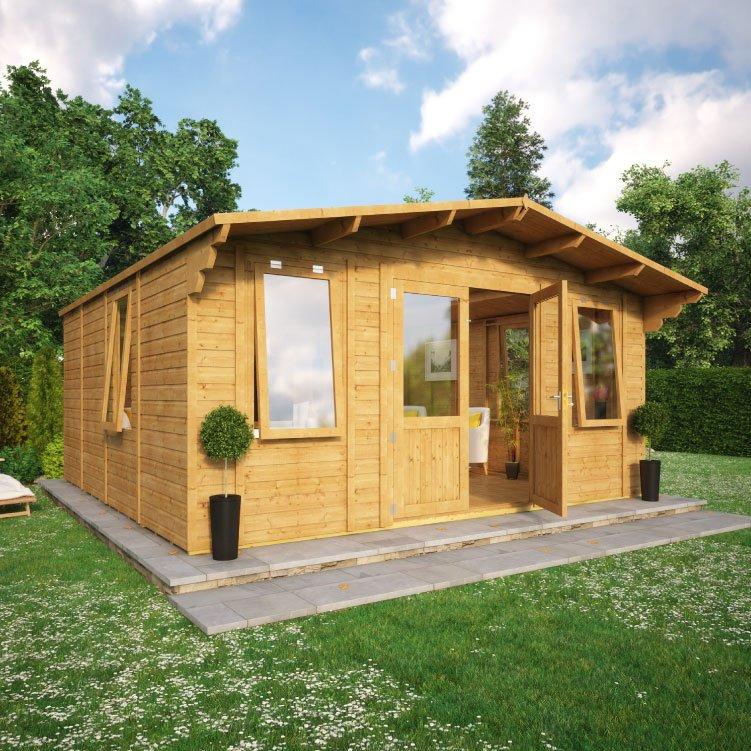Grandmaster Alpine Cabin Summerhouse