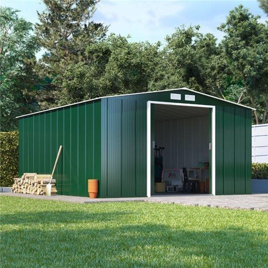 BillyOh Partner Eco Apex Roof Metal Shed   Metal Garden Workshops   Garden  Buildings Direct