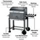 BillyOh Texas Smoker BBQ Charcoal Grill