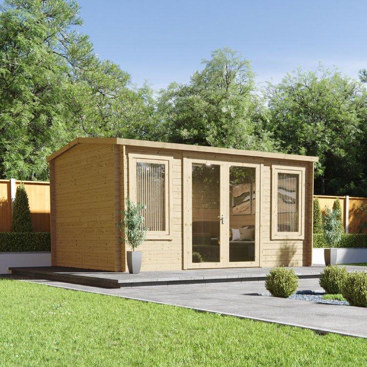 4.2m x 3.0m  BillyOh Highfield Log Cabin - 28