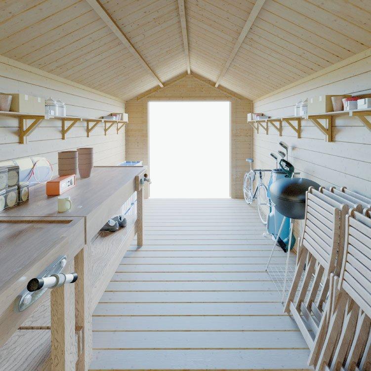 BillyOh Pro Apex Log Cabin