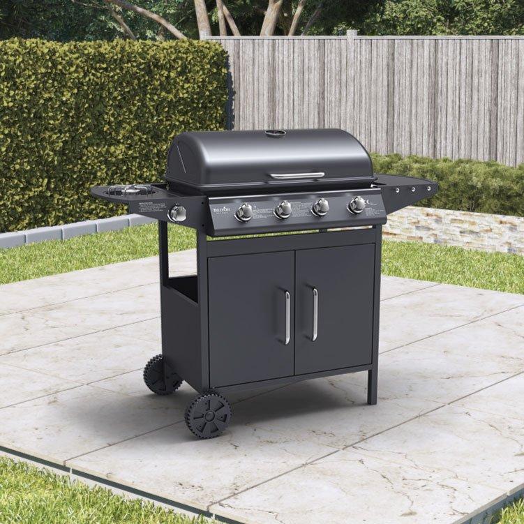 Click to view product details and reviews for Billyoh Huntsville Black 4 Burner Bbq Side Burner Inc Cover Regulator 4 Burner.