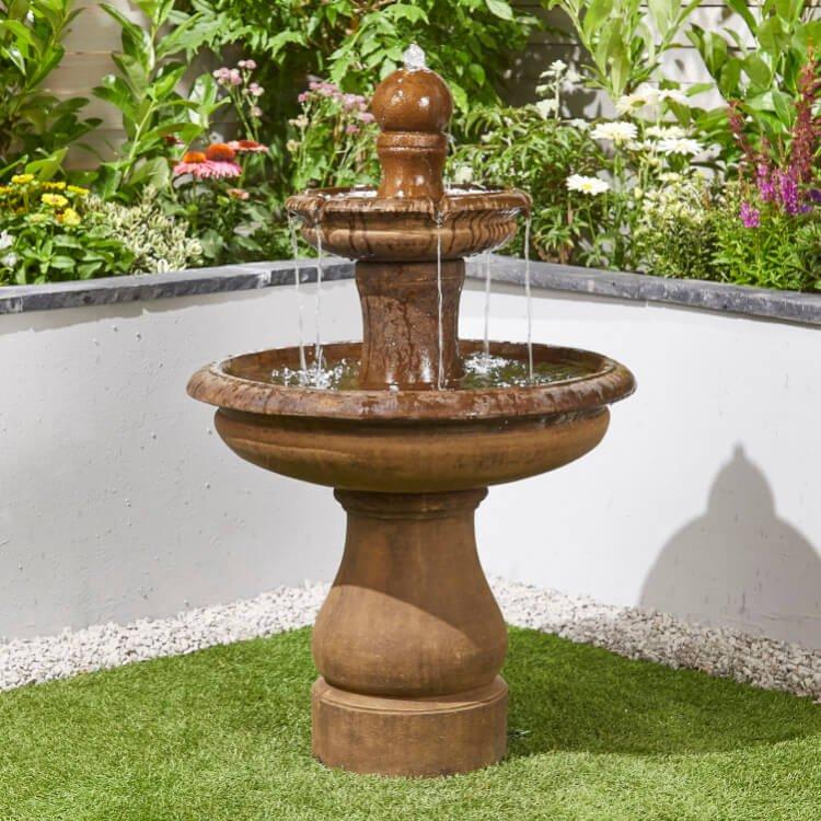 BillyOh Simplicity Outdoor Garden Water Feature with Pump