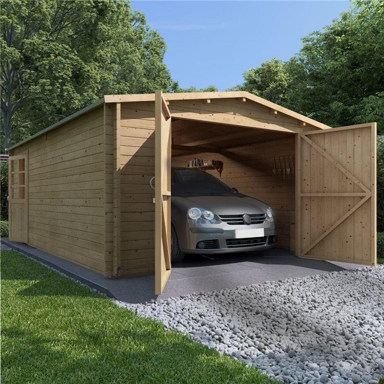 BillyOh Aston Wooden Garage