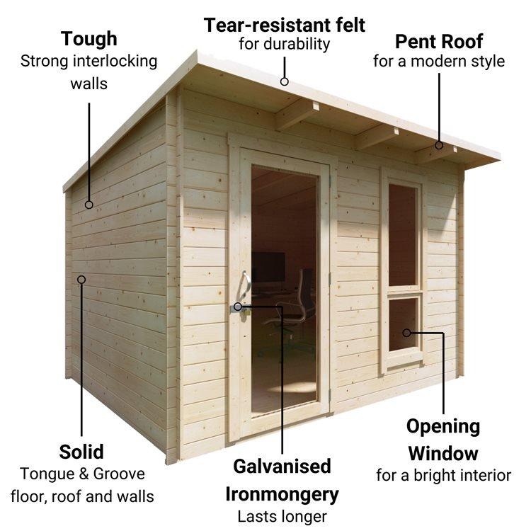 BillyOh Mia Log Cabin